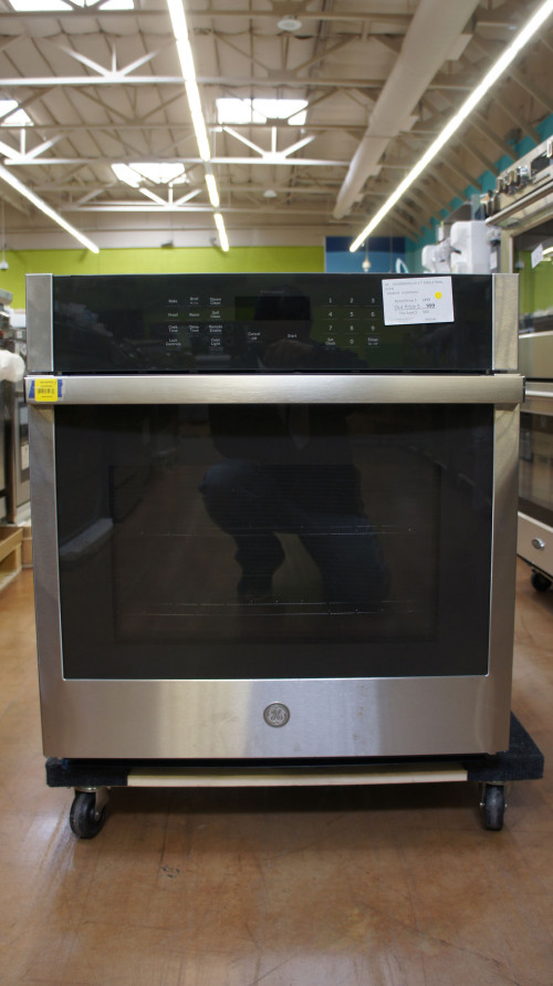 """27"""" GE JKS3000SNSS Single Wall Oven"""