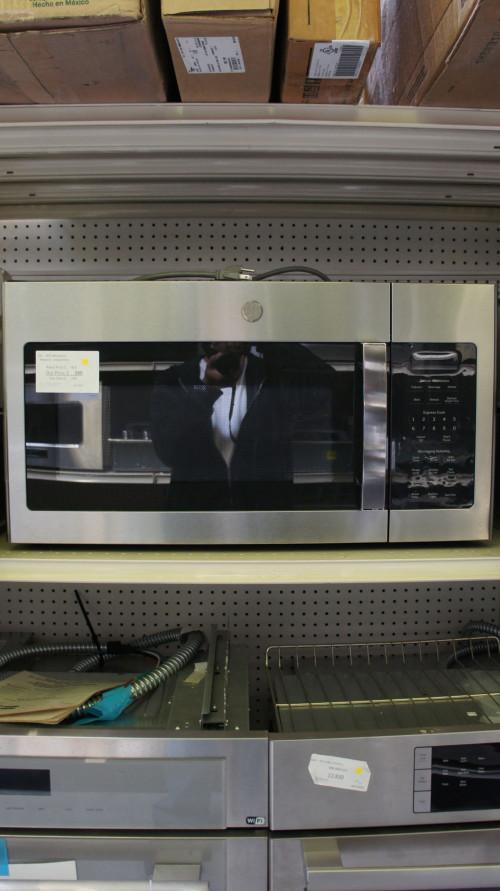"30"" GE JVM6175YKFS Over-The-Range Microwave"