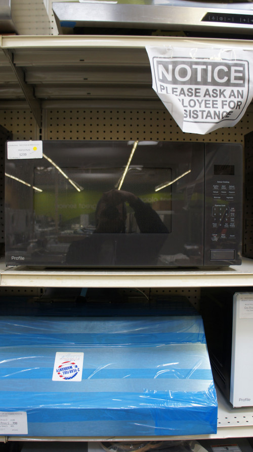 GE Profile PEB7227SLSS Built-In Microwave Oven