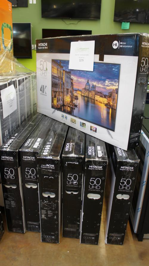 "Hitachi 50"" Class 4K Ultra HD TV - 50C61"