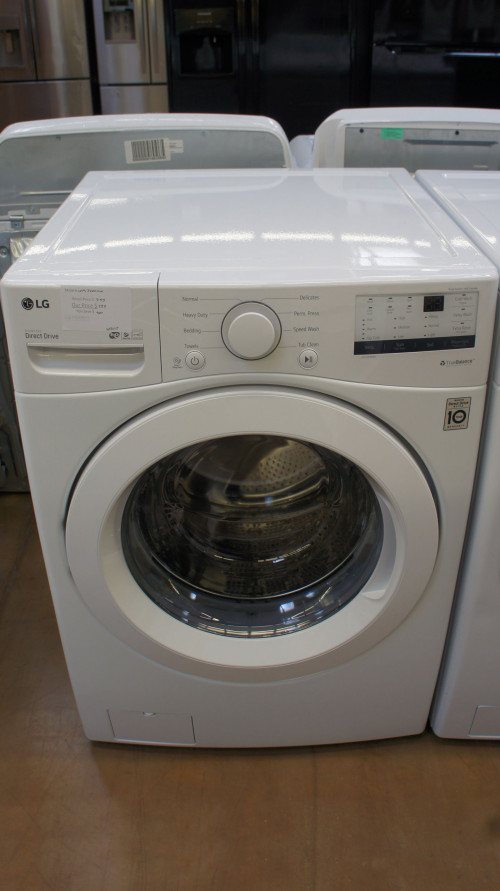 """27"""" LG WM3400CW Front Load Washer"""