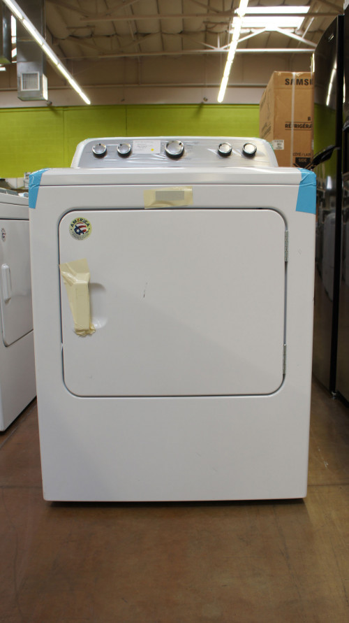 "29"" Maytag MEDX655DW Electric Dryer"