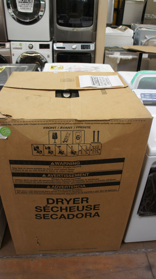 "29"" Maytag MEDC465HW Electric Dryer"