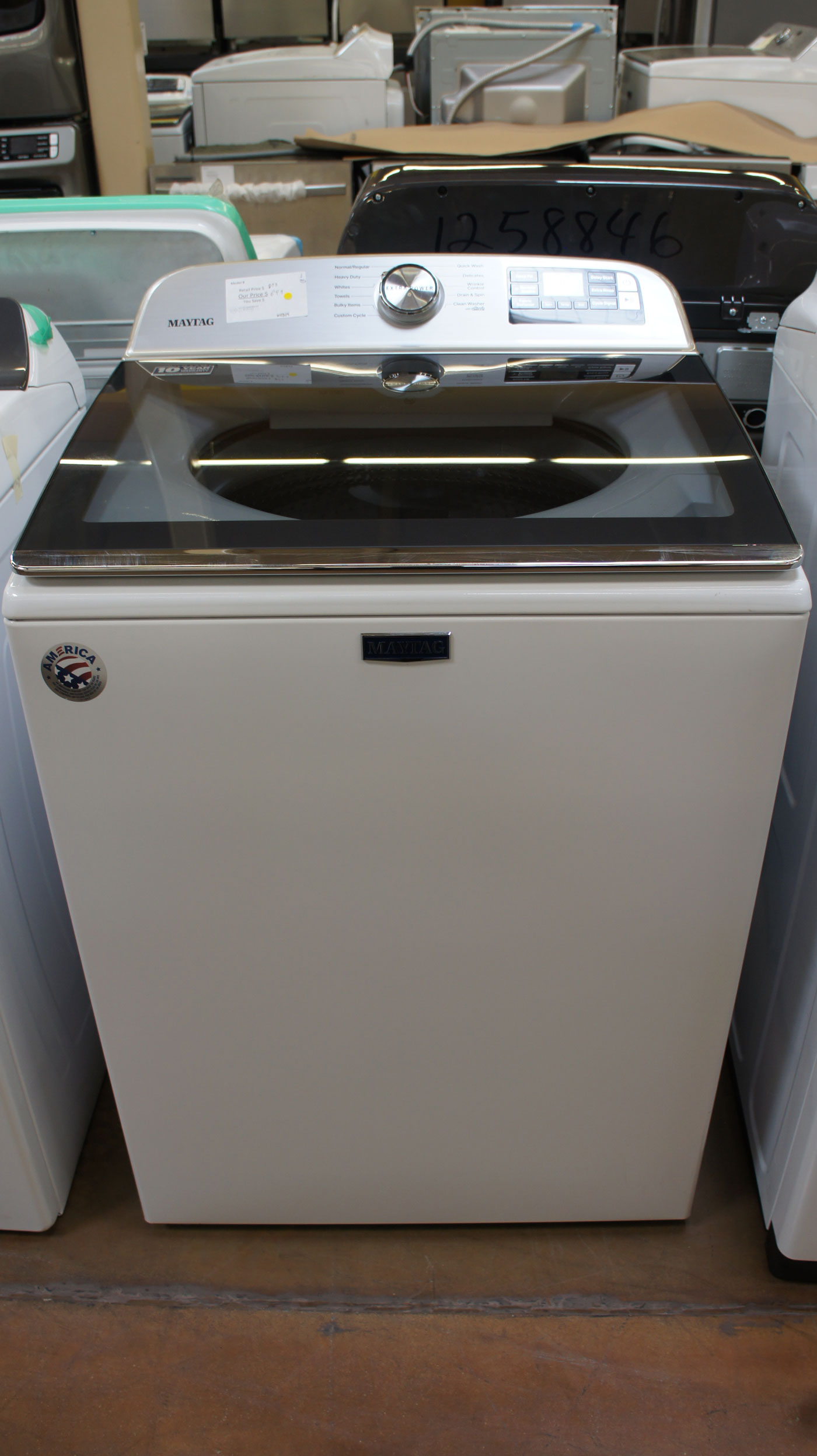 "27"" Maytag MVW6230HW Top Load Washer"