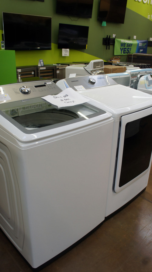Maytag WA50R5200AW DVE50R5400V Washer Dryer