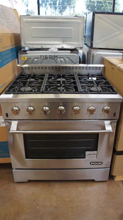 "36"" NXR LS3622 Convection Gas Range"