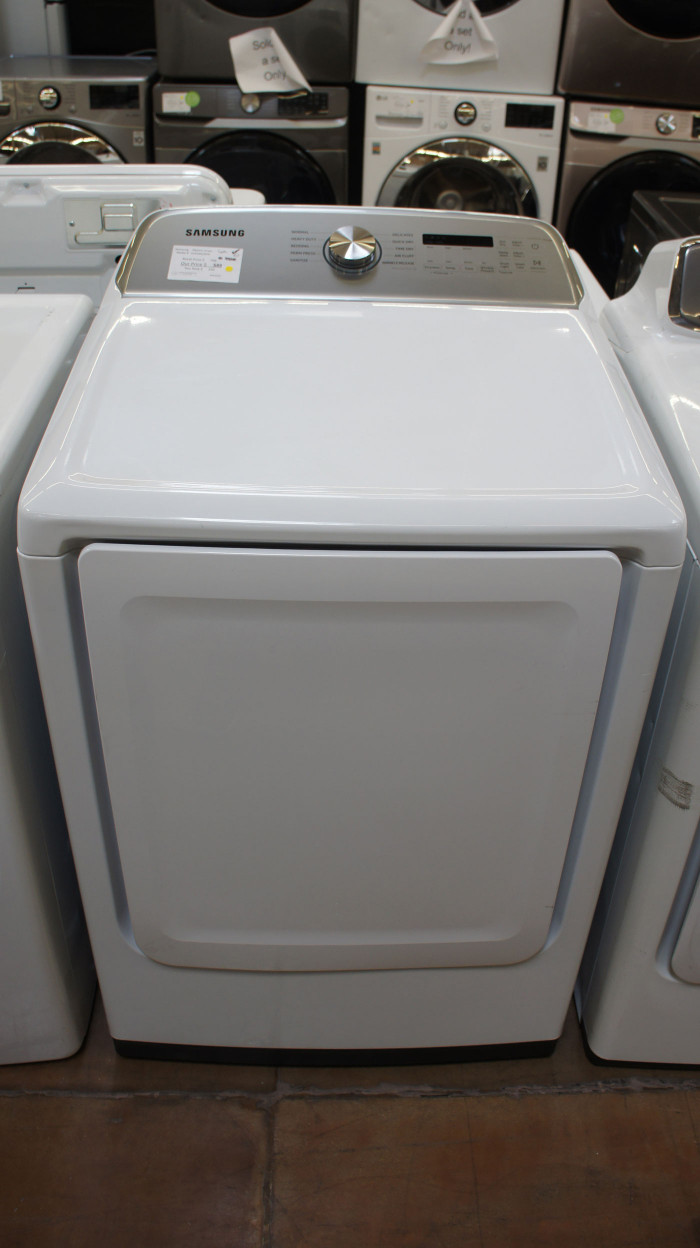 "27"" Samsung DVE50R5200W Electric Dryer"