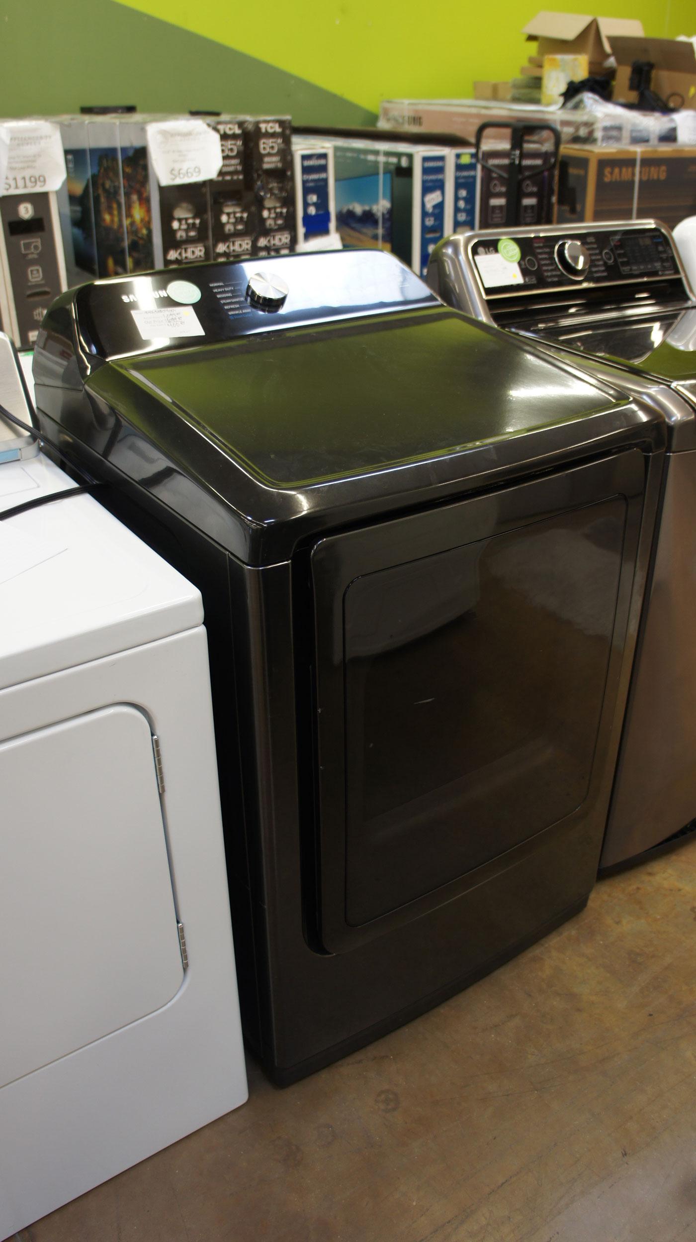 """27"""" Samsung DVG50R5400V Gas Dryer"""