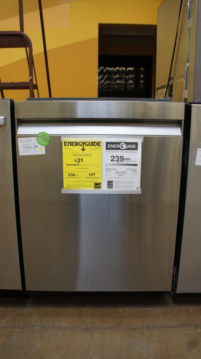 """24"""" Samsung DW80R7060US Dishwasher"""