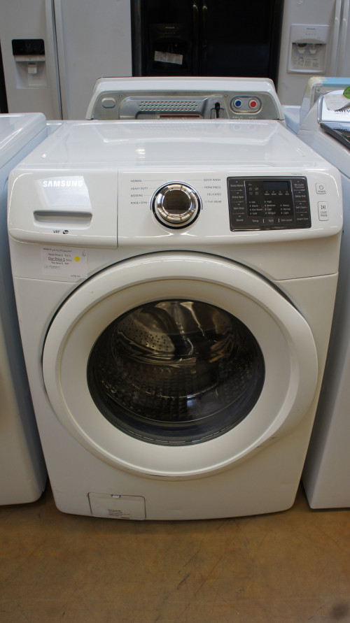 "27"" Samsung WF42H5000AW Front Load Washer"