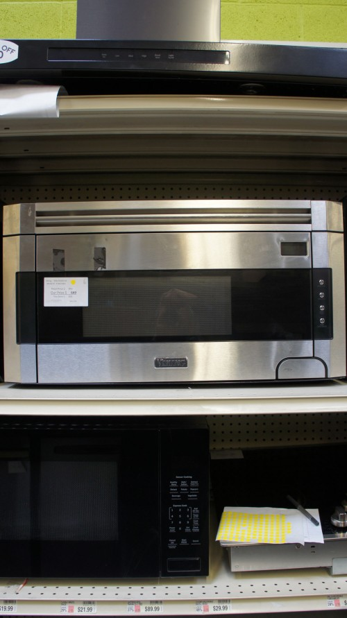 "30"" Viking RVMH330SS Microwave"