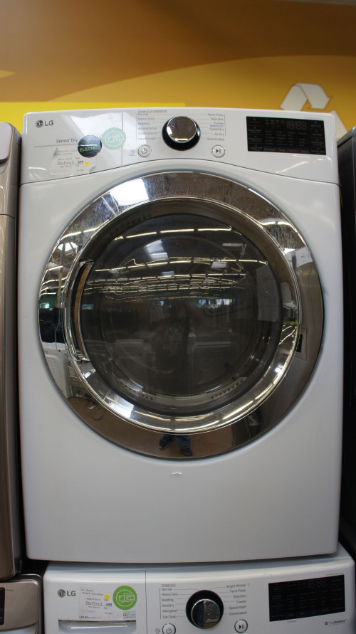 "27"" LG DLEX3700W Electric Dryer"