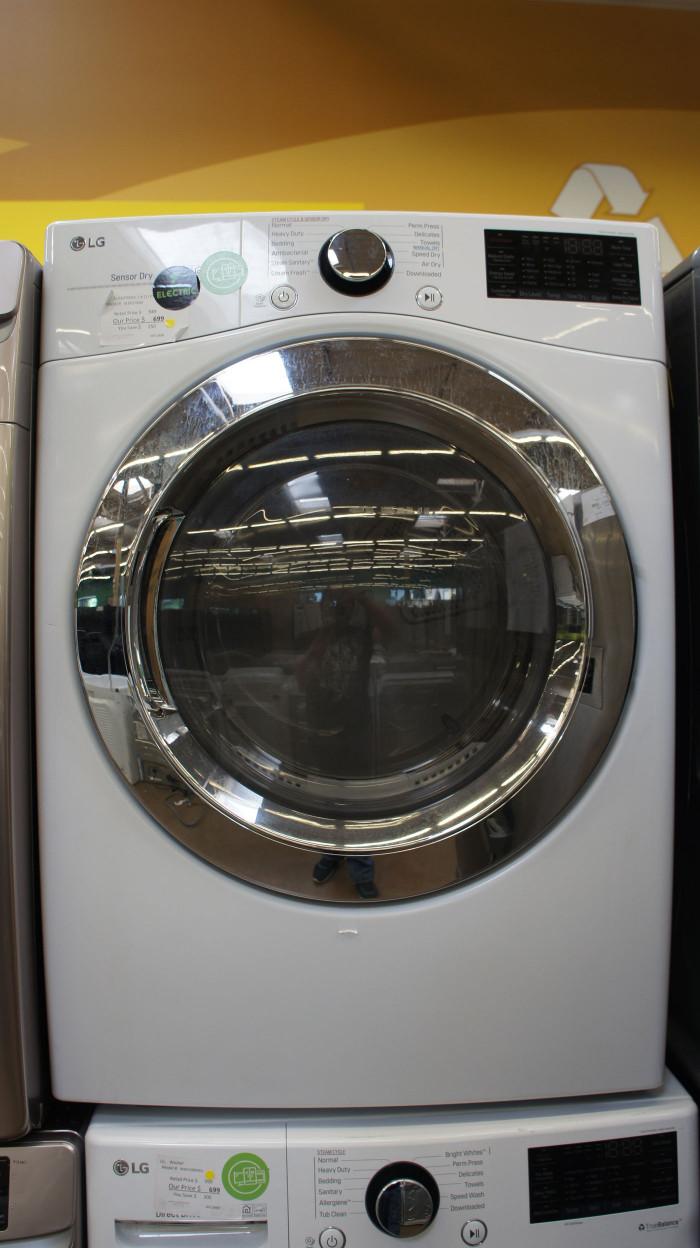 """27"""" LG DLEX3700W Electric Dryer"""