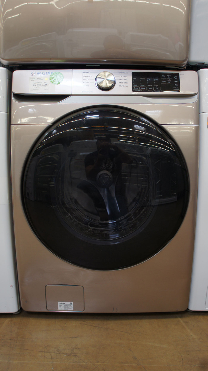 """27"""" Samsung WF45R6100AC Front Load Washer WFL3147"""