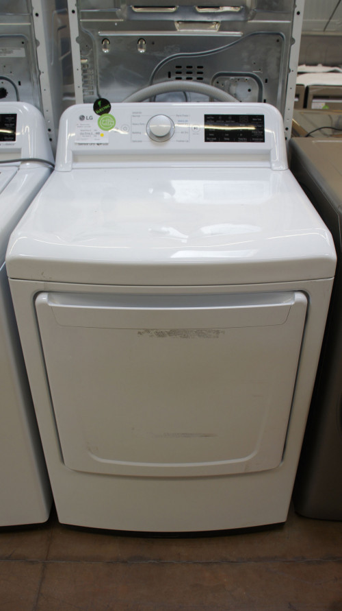 "27"" LG DLE7100W Electric Dryer"