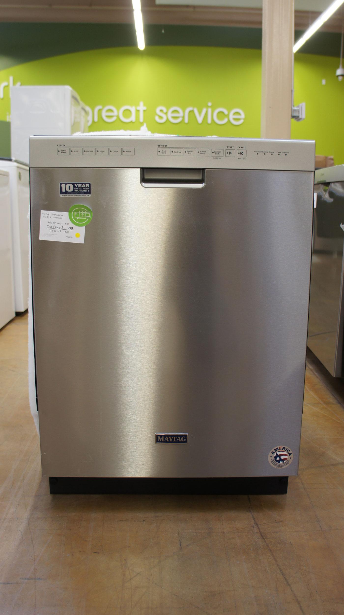 """24"""" Maytag MDB9959SKZ Dishwasher"""