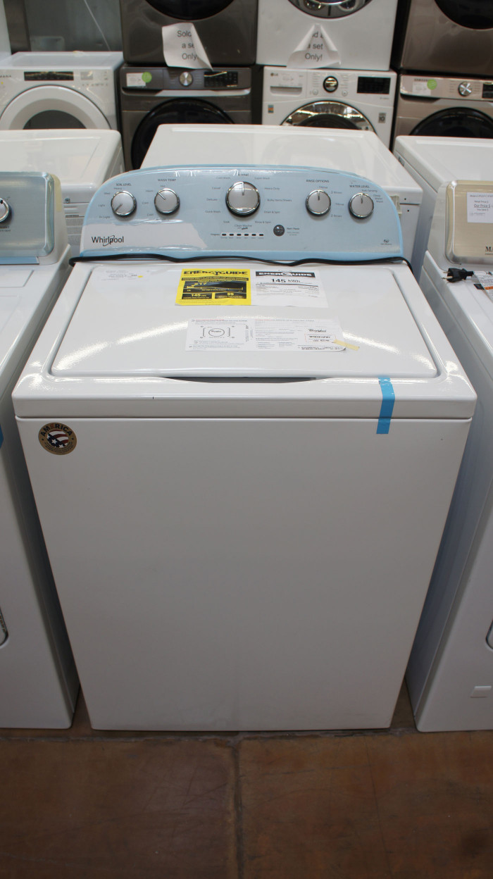 "28"" Whirlpool WTW4816FW Top Load Washer-wfl5257"