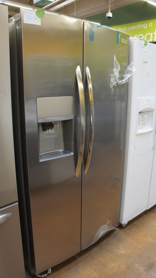 """36"""" Frigidaire LGHK2336TF Side-by-Side Refrigerator"""