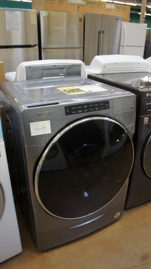 "27"" Whirlpool WFW6620HC Gas Dryer"