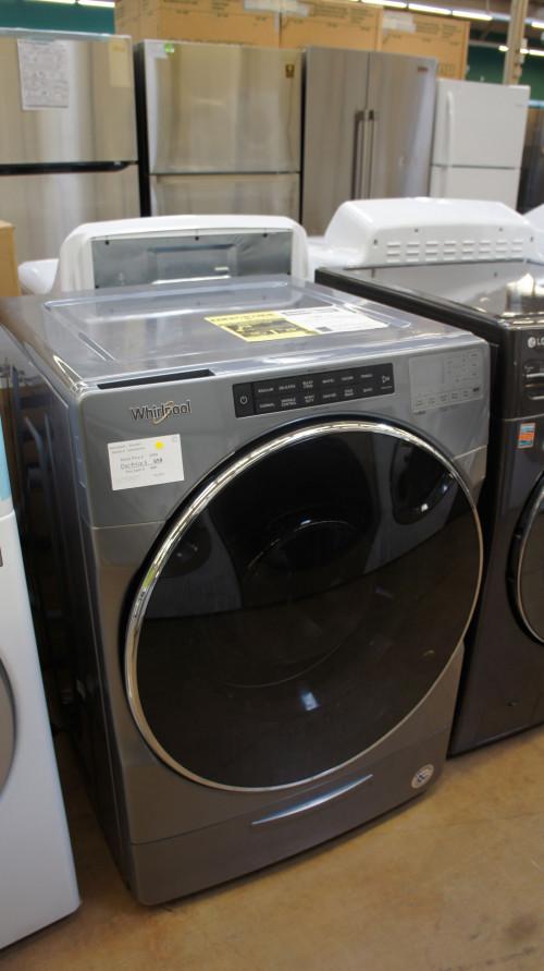 "27"" Whirlpool WFW6620HC Gas Dryer"