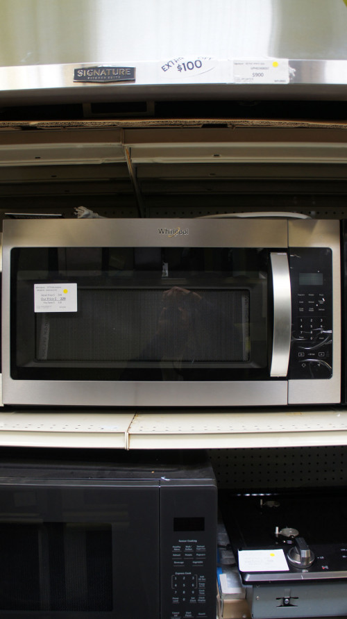 1.7 cu.ft. Whirlpool WMH31017HZ Microwave