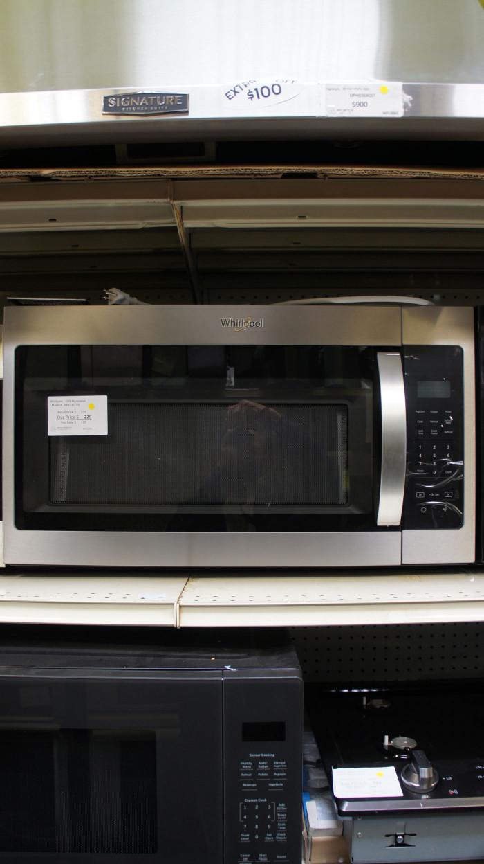 1.7 cu.ft. Whirlpool WMH31017HZ Microwave
