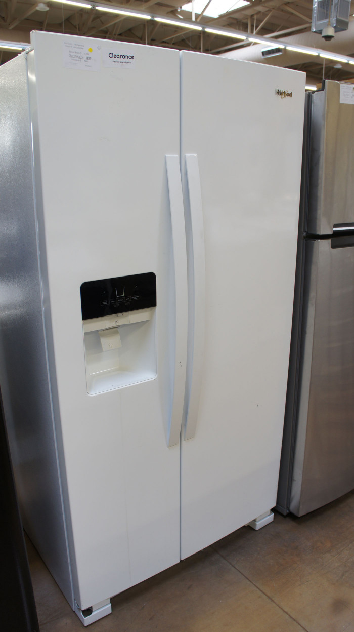 "36"" Whirlpool WRS325SDHW Side-by-Side Refrigerator"