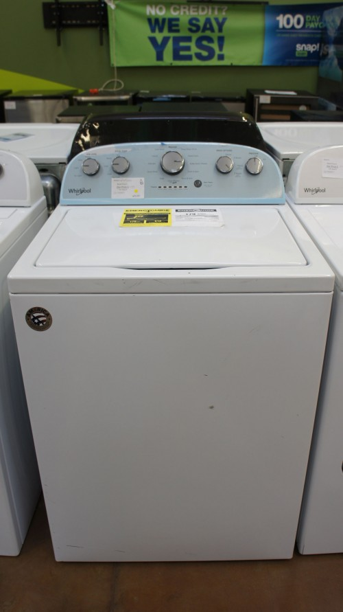 "28"" Whirlpool WTW5000DW Top Load Washer"