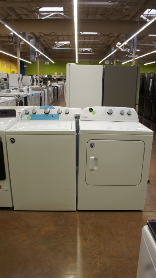 Whirlpool WTW5000DW and WED4815EW Set