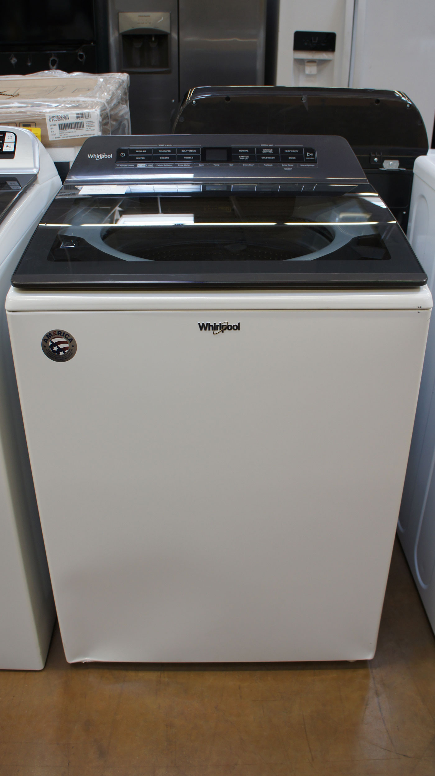 "27"" Whirlpool WTW6120HW Top Load Washer"