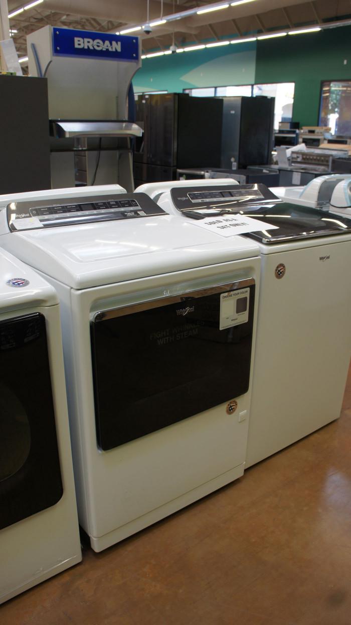 Whirlpool WTW7120HW WGD7120HW Laundry Set