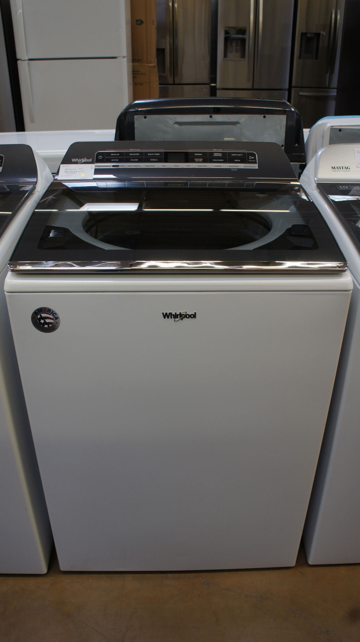 "27"" Whirlpool WTW7120HW Top Load Washer"