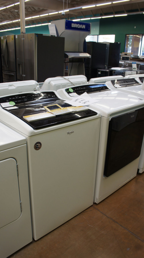 Whirlpool WTW8040DW WED8000DW Laundry Set
