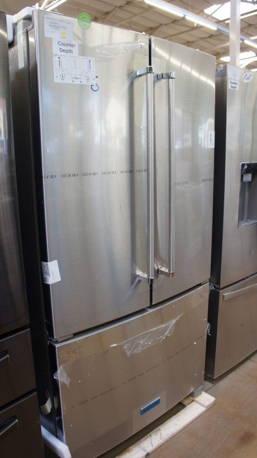 "36"" KitchenAid KRFC300ESS French Door Refrigerator"