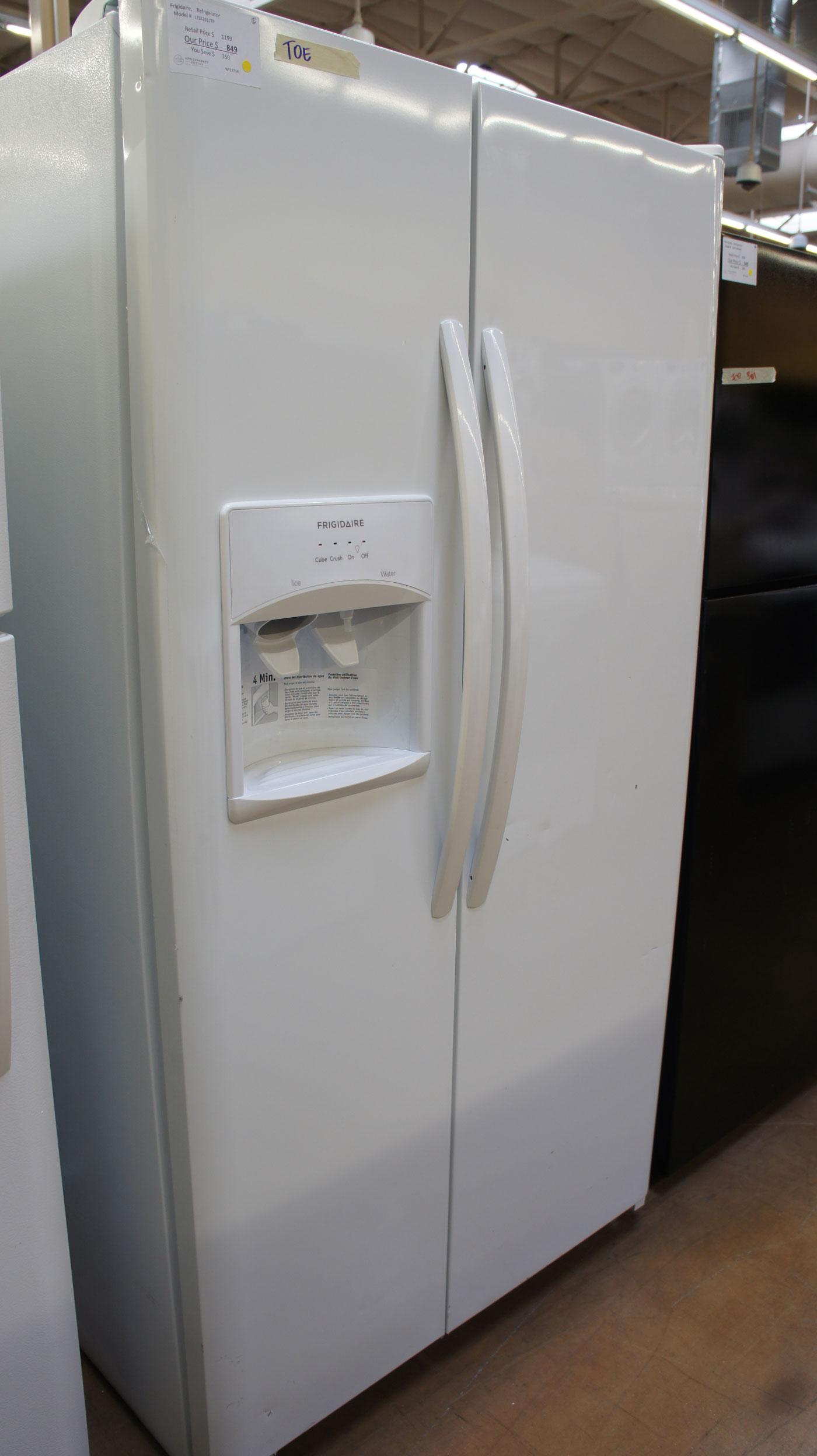 Frigidaire Side-By-Side Refrigerator