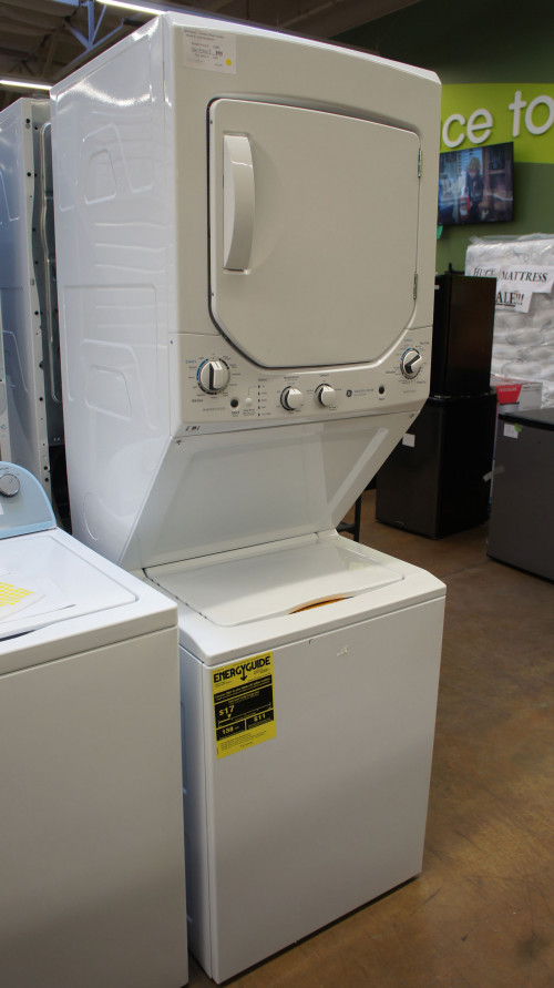GE Spacemaker Electric Laundry Center