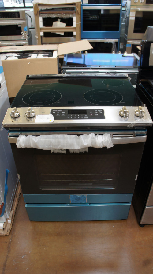GE Slide-In Electric Range