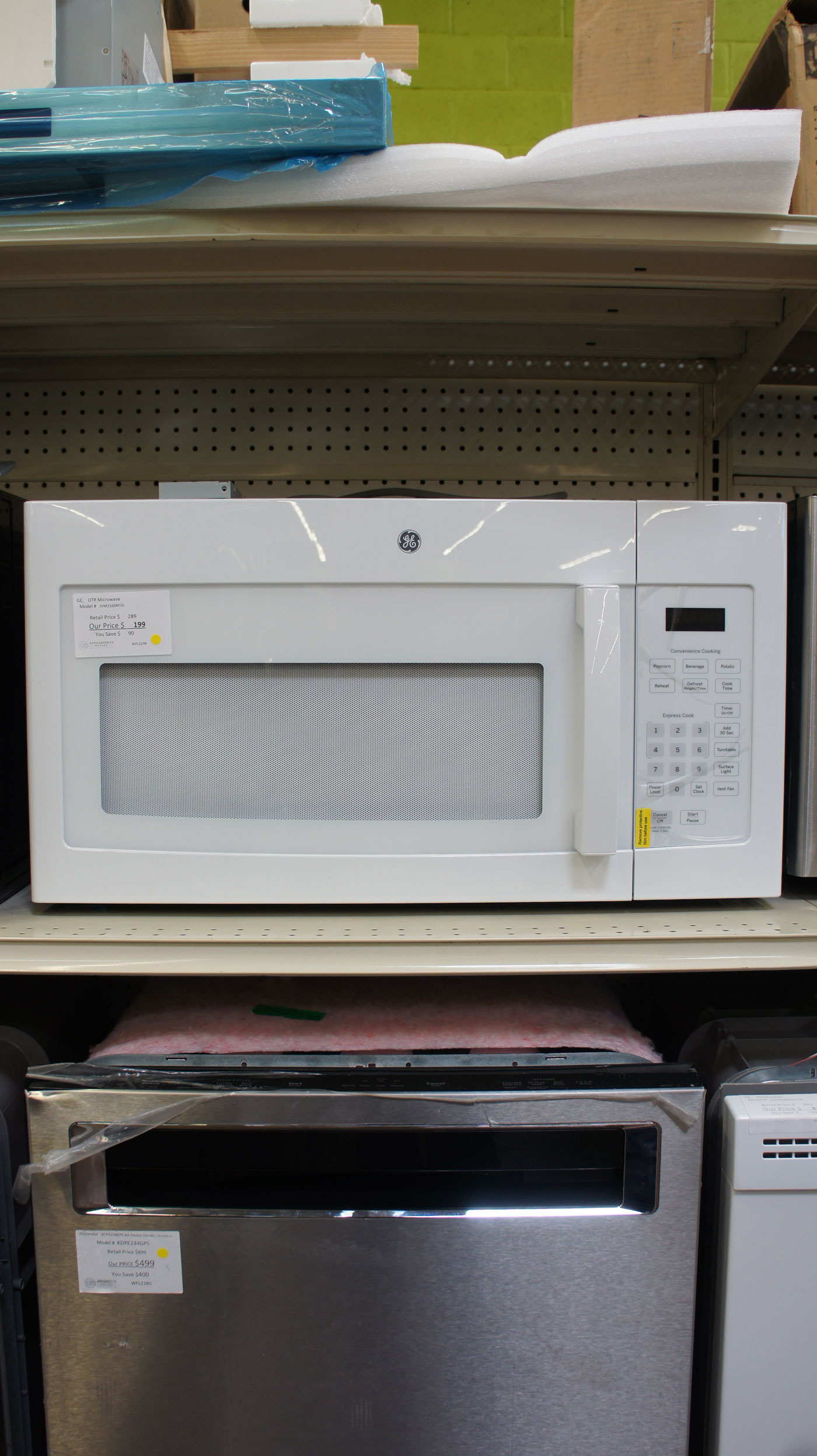 GE Over-The-Range Microwave