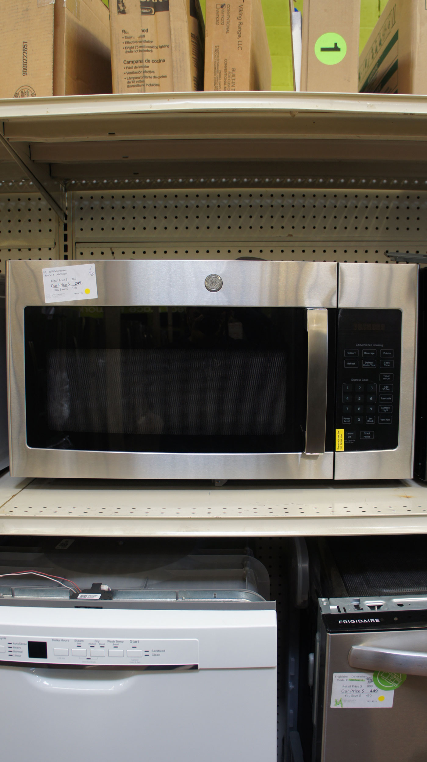 LG Over-The-Range Microwave Oven