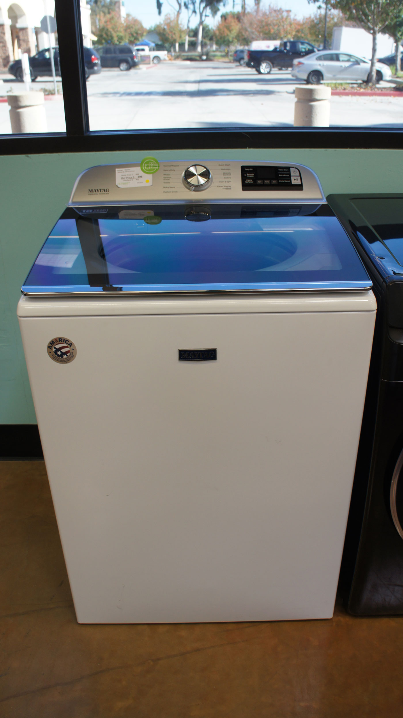 Maytag Top Load Smart Washer