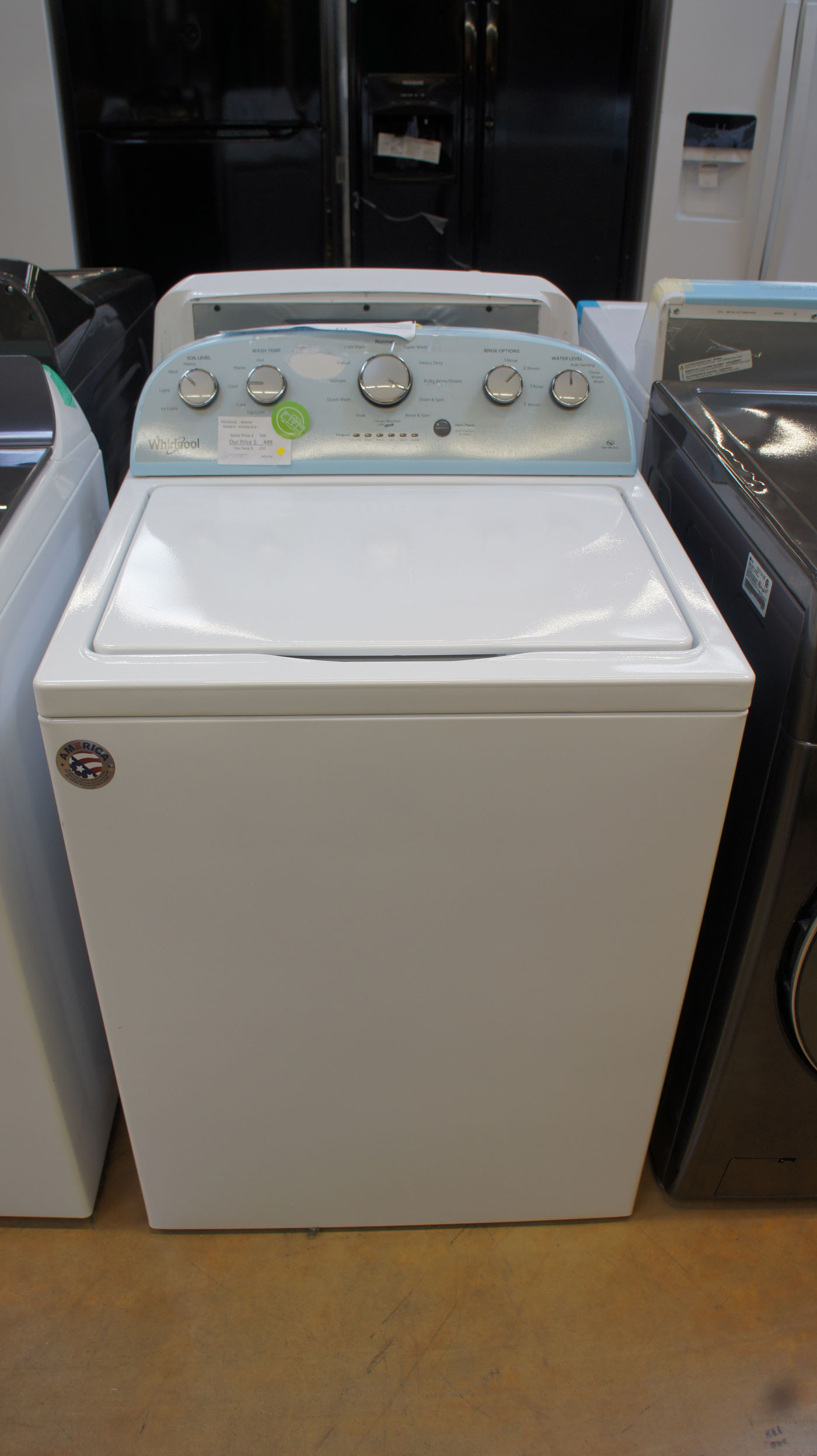 Whirlpool Top Load Washer