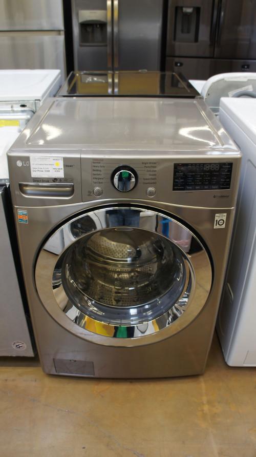 "27"" LG WM3700HVA Front Load Washer"