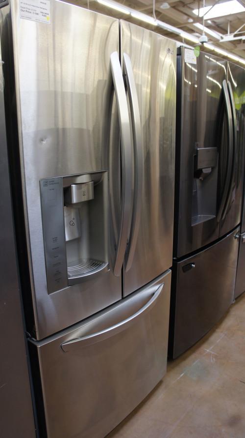 "33"" LG LFXS24623W French Door Refrigerator"