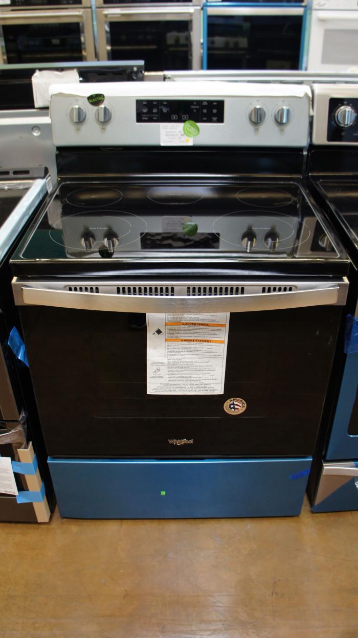 "30"" Whirlpool WFE535SOJZ Electric Range"