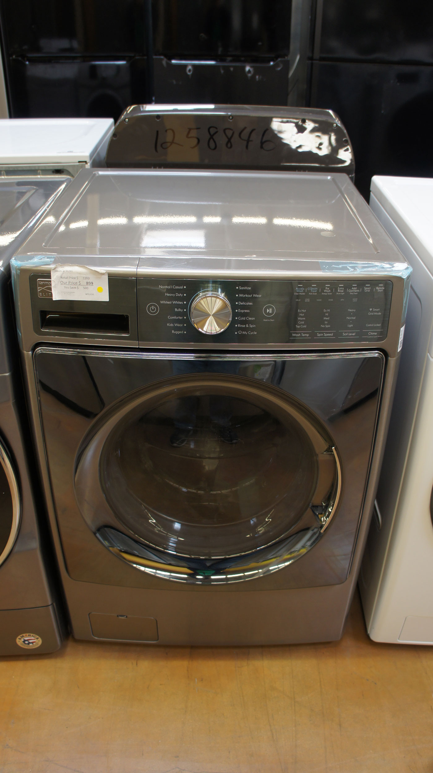 """27"""" Kenmore 41783 Smart Washer"""