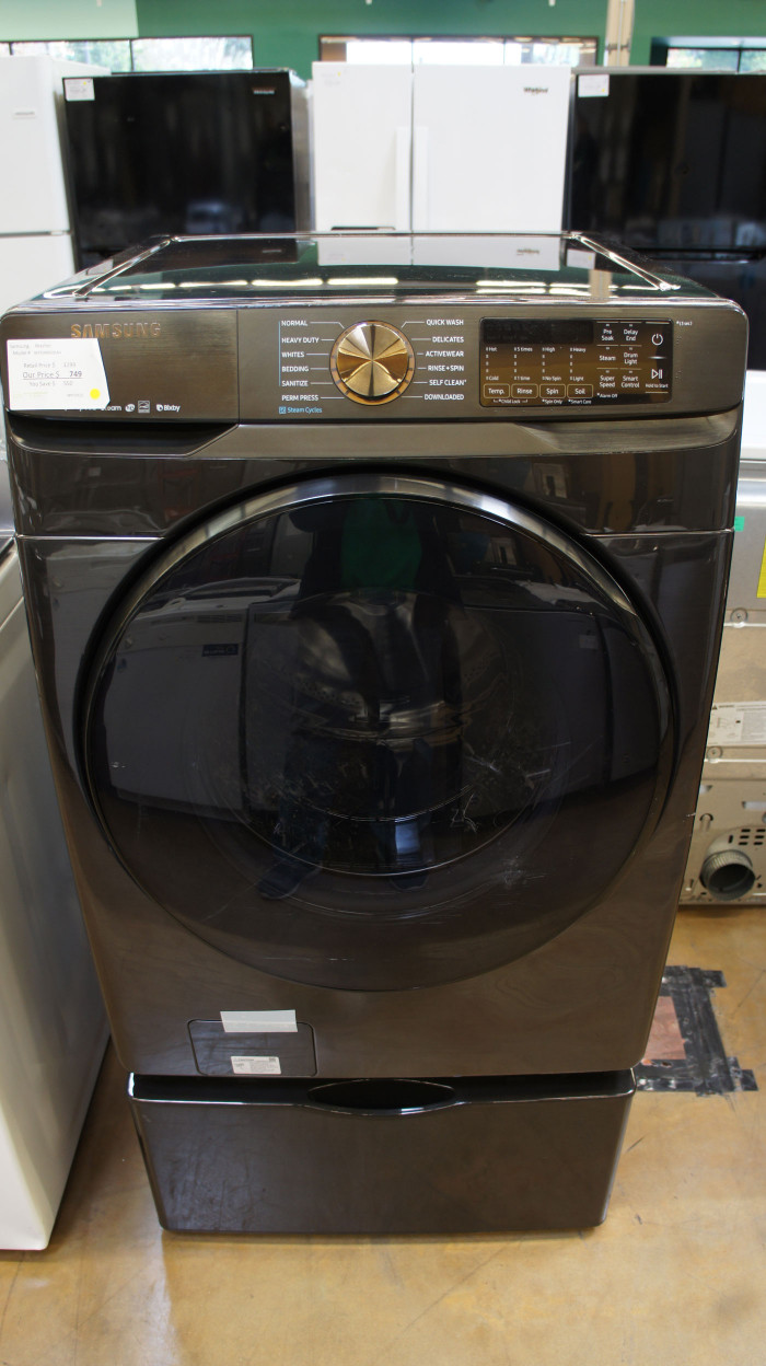 "27"" Samsung WF50R8500AV Washer"