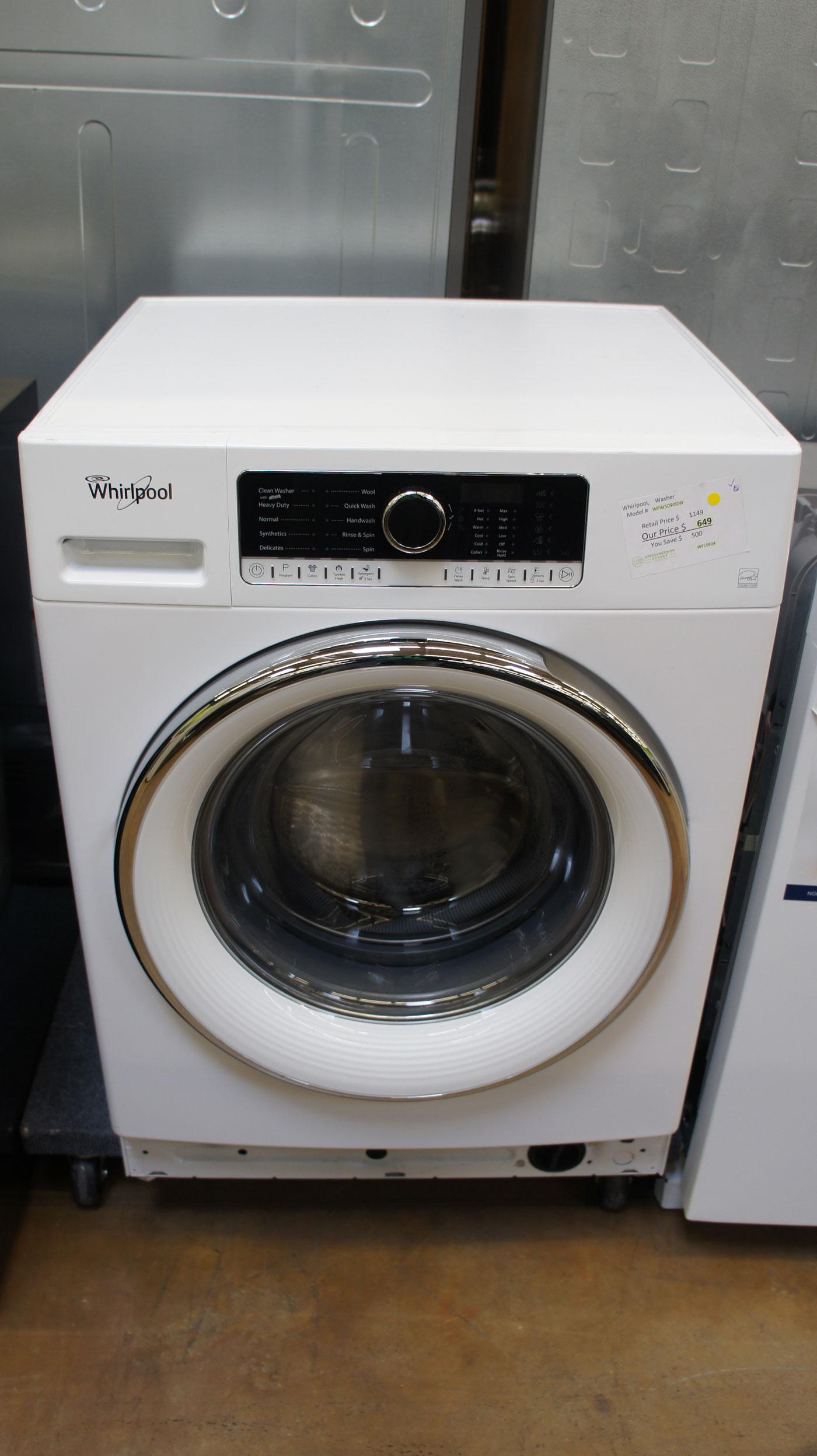 "24"" Whirlpool WFW5090G Washer"