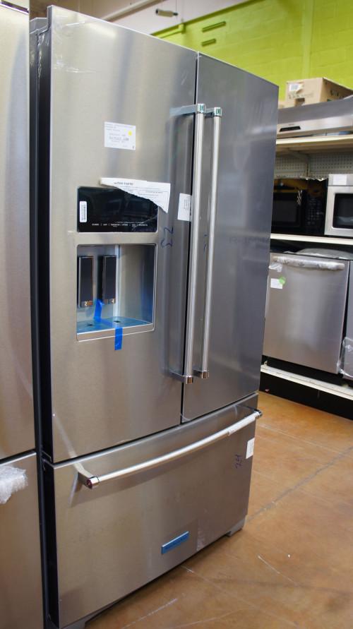 "36"" KitchenAid KRFF507HPS Refrigerator"