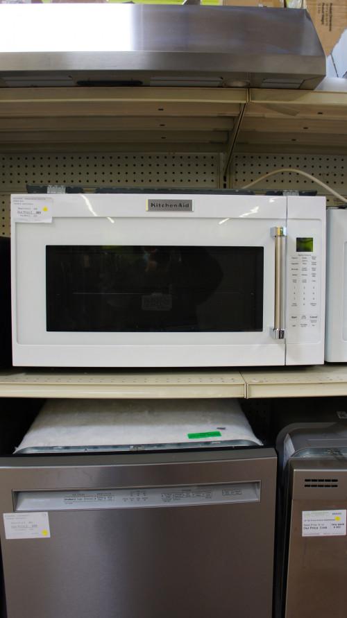 """30"""" KitchenAid KMHS120EWH Microwave"""