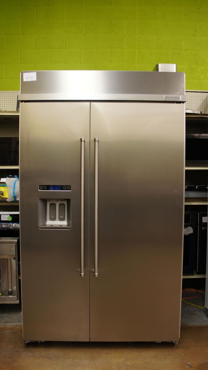 "48"" KitchenAid KBSD608ESS Refrigerator"